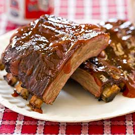 Chicago-Style Barbecued Ribs