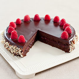 Chocolate-Raspberry Torte