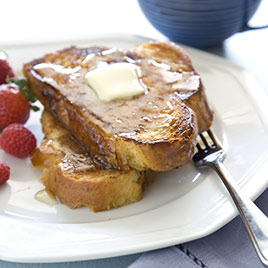 Pecan Rum French Toast