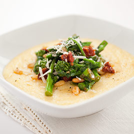 Creamy Parmesan Polenta