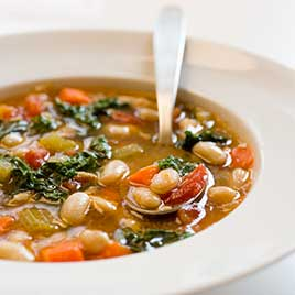 Quick Hearty Tuscan Bean Stew