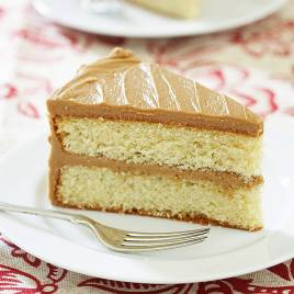 Easy Caramel Cake