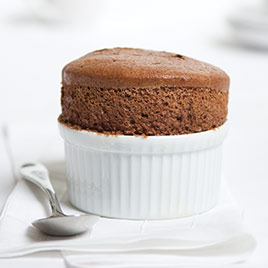 Make-Ahead Chocolate Soufflé
