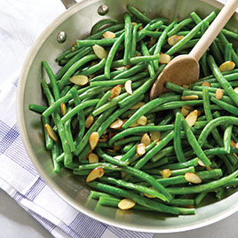 Green Beans Amandine