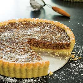 Fig-Walnut Tart