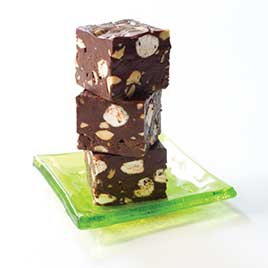 15-Minute Rocky Road Fudge