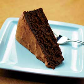 Bittersweet Chocolate Mousse Cake