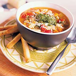 Classic Minestrone with Rice or Pasta