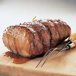 Maple-Glazed Pork Roast